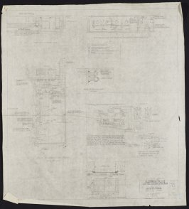 California Palace of the Legion of Honor: Operating Room, fifty-second from a group of seventy architectural study drawings