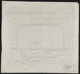 California Palace of the Legion of Honor: Stage Portal, fifty-fifth from a group of seventy architectural study drawings