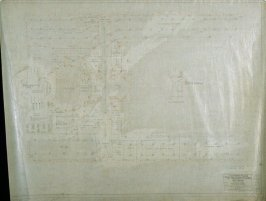 California Palace of the Legion of Honor: Electrical: Terrace Floor, fifteenth from a group of nineteen presentation drawings