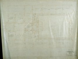 California Palace of the Legion of Honor: Electrical: First Floor, sixteenth from a group of nineteen presentation drawings
