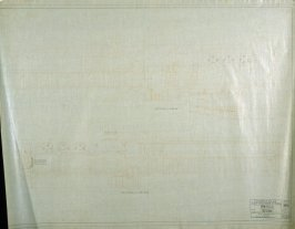 California Palace of the Legion of Honor: Electrical: Sections, eighteenth from a group of nineteen presentation drawings