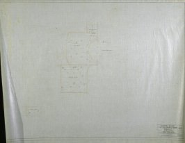 California Palace of the Legion of Honor: Electrical: Boiler Room, nineteenth from a group of nineteen presentation drawings