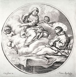 The Virgin Appearing to Saint Alexis