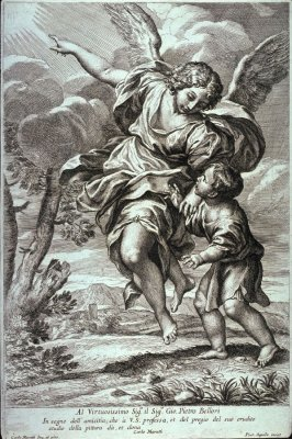 The Guardian Angel, after Carlo Maratta
