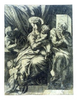The Holy Family with St. Elizabeth and St. John