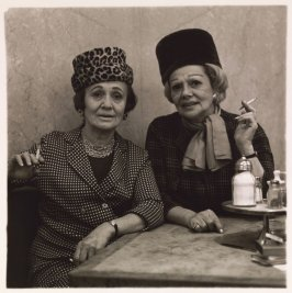 Two Ladies at the Automat