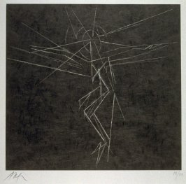 Le Christ fond Noir (The Crucified on black ground)