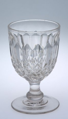 Goblet with Giant Prism pattern