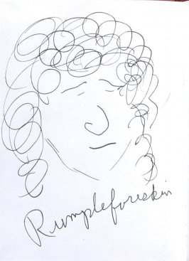 Rumpleforeskin, Illustration 60 in the book Sketchbook (Sun Valley, Idaho)