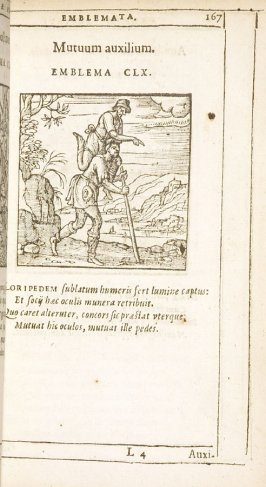 A minimis quoque timendum (Beware of even the weakest foe), emblem 168 in the book Emblemata by Andrea Alciato (Antwerp: Plantin [under the direction] of Raphelengius, 1608)