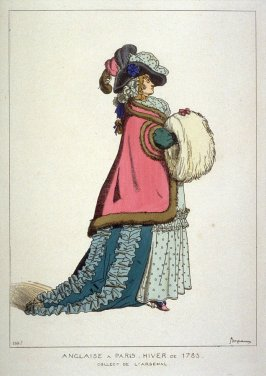 English Woman in Paris, winter of 1785