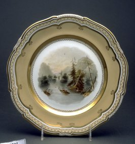 Plate (The Highlands, Lake George, America)