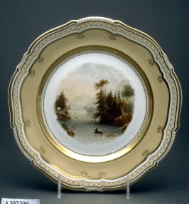 Plate (The Narrows, Lake George, America)