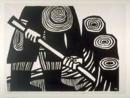 A Cultivator (Man working in the Field)