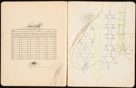 Untitled, sketch of drawings from front page and p.1