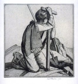 Man with a Cross