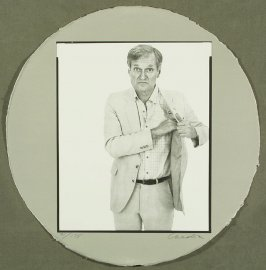Frontispiece, in the book Self-Portrait In A Convex Mirror by John Ashbery (San Francisco: The Arion Press, 1984)