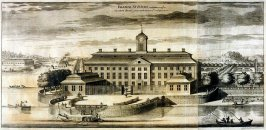 Palace Sturfors, from Suecia Antiqua et Hodierna (Ancient and Modern Sweden)