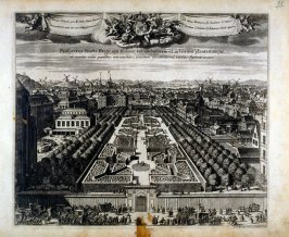The Royal Gardens, from Suecia Antiqua et Hodierna (Ancient and Modern Sweden)