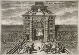 Gotthenburg Gate, from Suecia Antiqua et Hodierna (Ancient and Modern Sweden)