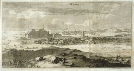 View of Wardberg, from Suecia Antiqua et Hodierna (Ancient and Modern Sweden)