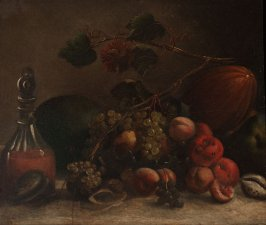 Still Life with Fruit and Decanter