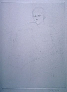 Untitled from the portfolio, Six Drypoints