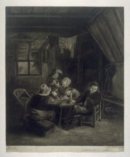 Interior of a Cottage
