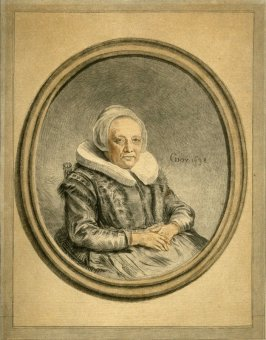 Seated Dutch woman