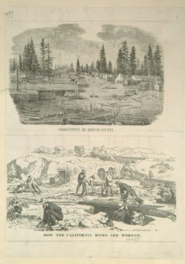 Two View of Georgetown, El Dorado CountyHow California Mines Are Worked