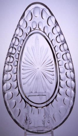 Relish dish with Argus pattern