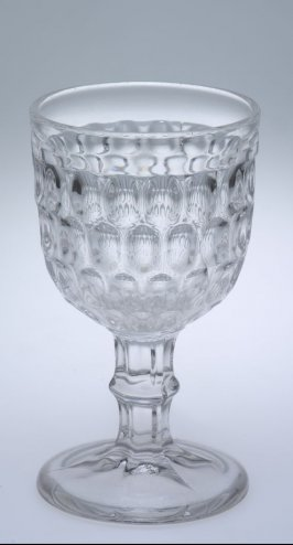 Goblet with Argus or thumbprint pattern