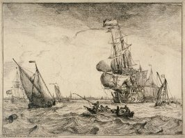 Seascape with View of Amsterdam