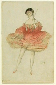 Untitled, no. 1 from the series Costume for La Fée des poupées