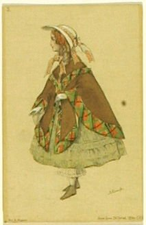 Sa fillette, no. 3 from the series Costume for La Fée des poupées