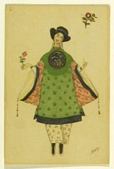 Une poupée chinoise, no. 5 from the series Costume for La Fée des poupées