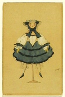 Une poupée francaise, no. 7 from the series Costume for La Fée des poupées