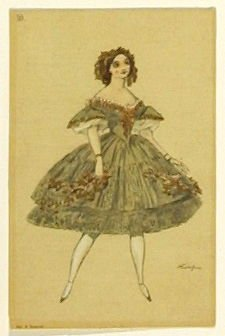 Du corps de ballet, no. 10 from the series Costume for La Fée des poupées