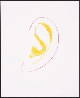 Six Ear Drawings (Complementary Colors)