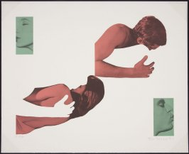 No more sin from A Suite of 5 Lithographs for Tristram Shandy