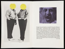 """Third double-page images (""""Revenge from some baneful corner shall level a tale of dishonour at thee,.""""..) in volume 3 of the book The Life and Opinions of Tristram Shandy, Gentleman by Laurence Sterne (San Francisco: Arion Press, 1988)"""