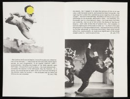 "Eighth double-page images( ""But before the Corporal begins.)and (""He stood,–for I repeat it, to take the picture..."") in volume 3 of the book The Life and Opinions of Tristram Shandy, Gentleman by Laurence Sterne (San Francisco: Arion Press, 1988)"