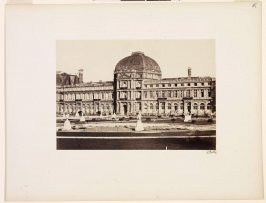 Tuileries Palace, plate 6 of the album Vues de Paris en photographie (Photographic Views of Paris)
