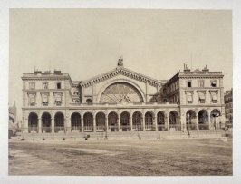 #38: Gare de Strasbourg from Vues de Paris en Photographie