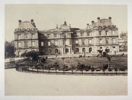 #34: Palais de Luxembourg from Vues de Paris en Photographie
