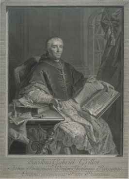 Portrait Of Jacques Gabriel Grillot, Abbot Of Pontignac