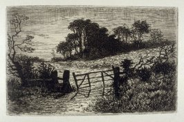 The lone Field, plate 6 in the book, The Etcher (London: Sampson Low…, 1880), vol. 2 [bound in same volume as vol. 1, 1879]