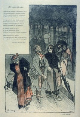 """Les Aveugles by Charles Baudelaire from the Paris Daily """"Gil Blas"""""""