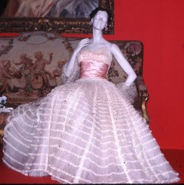 "Evening dress ""Chateau d'Anet"""