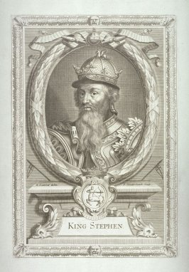 King Stephen, Grandson Of The Conqueror (1135-1154)